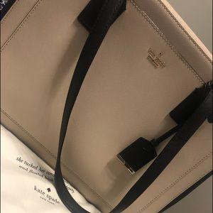 Kate Spade beige/black bag